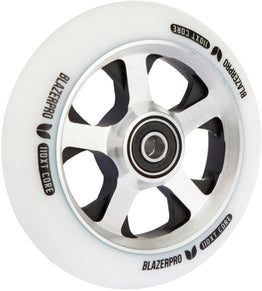 Blazer Pro XT 110mm Scooter Wheel - White / Silver / Black