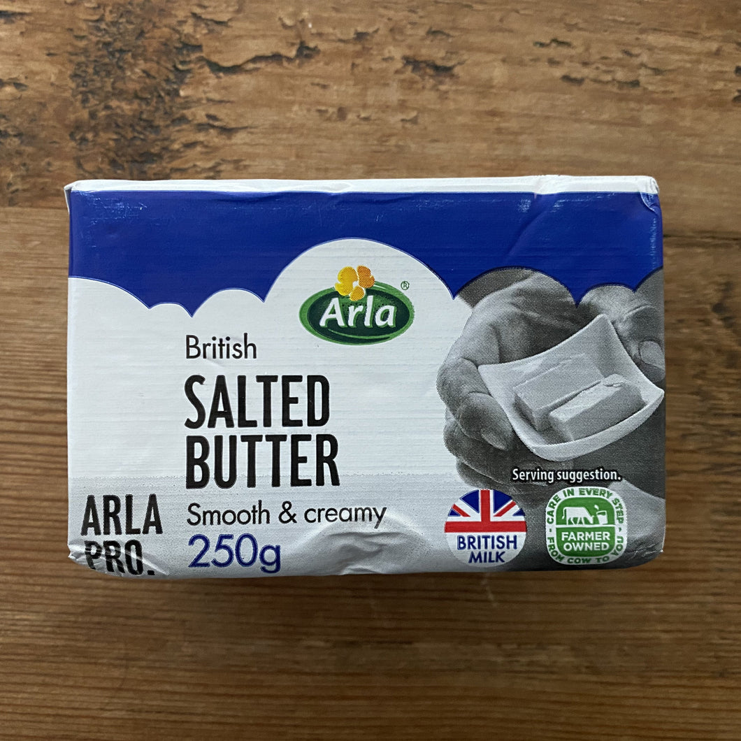 SALTED butter (250g)