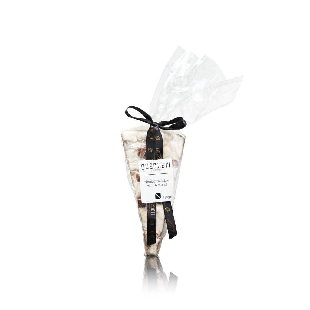 Quartieri dolciaria nougat wedge with almond