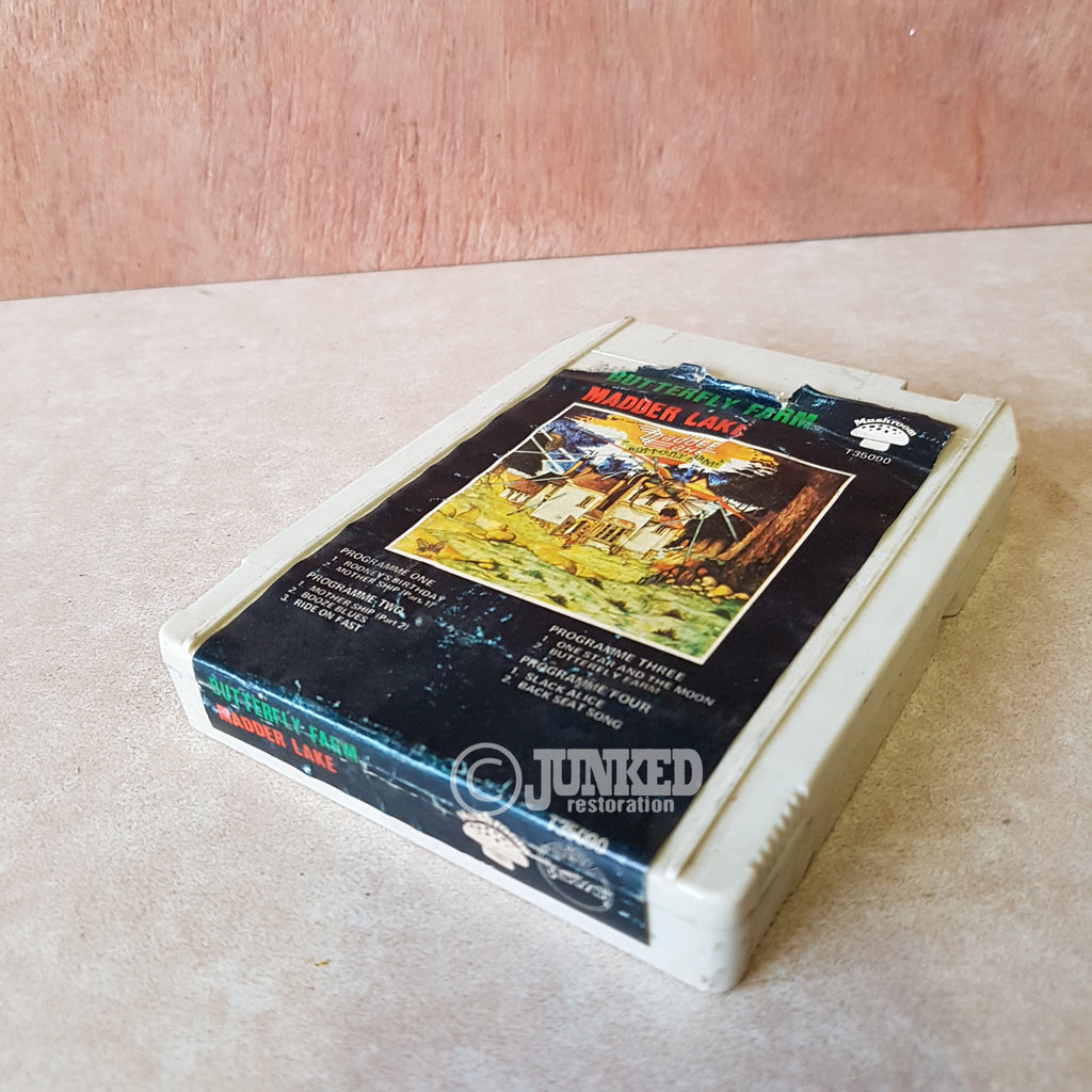 "8 Track Cartridge - Madder Lake ""Butterfly Farm"""