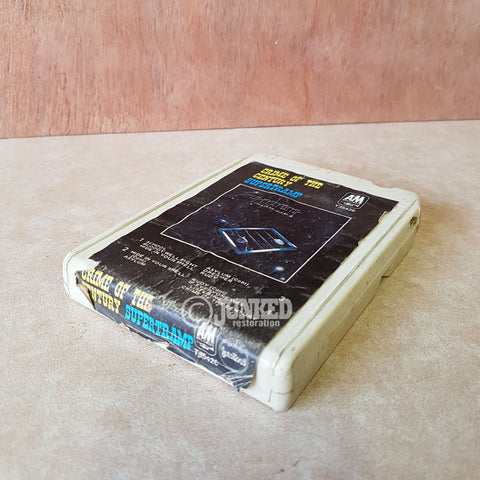 "8 Track Cartridge - Supertramp ""Crime of the century"""