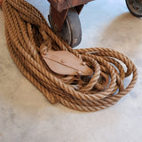 Block & tackle rope set