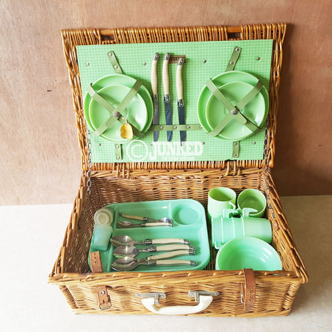 Brexton English picnic set - green