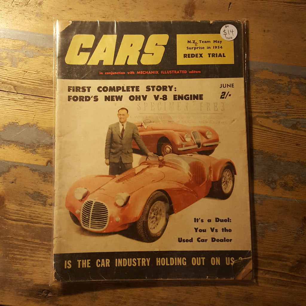 Cars Today Magazine June 1954 – JUNKED