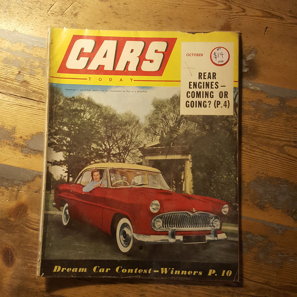 Cars Today Magazine October 1956