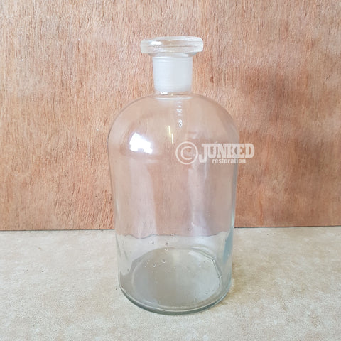 Chemist glass bottle 1000ml