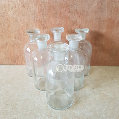 Chemist glass bottle 500ml