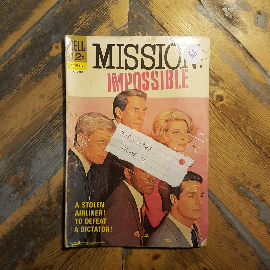 Comic Mission Impossible No. 4