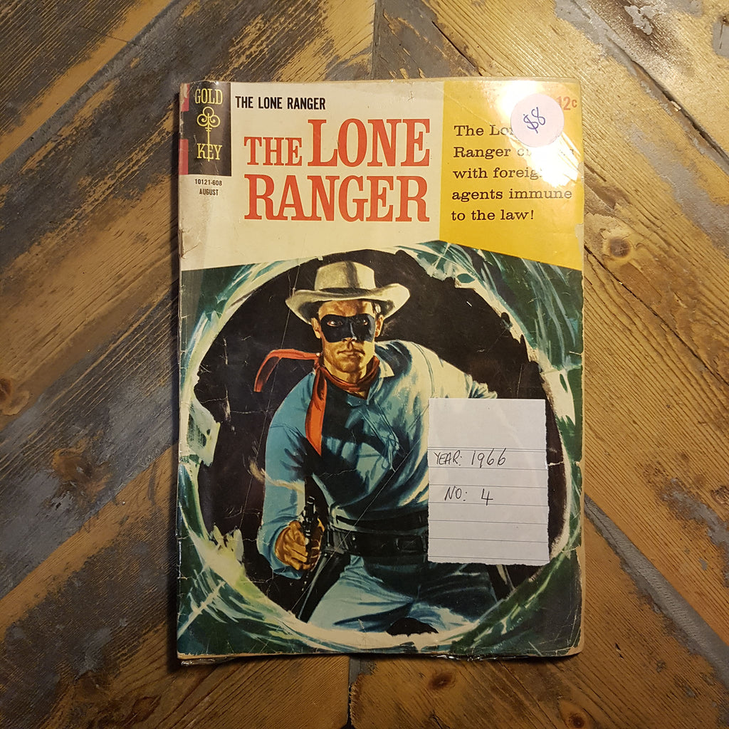 Comic The lone ranger No. 4