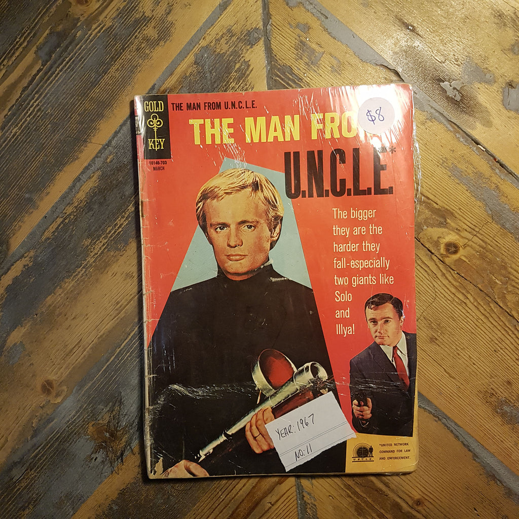 Comic The man from U.N.C.L.E No. 11