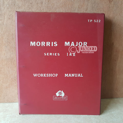 Morris Major series 1 + 2 workshop manual