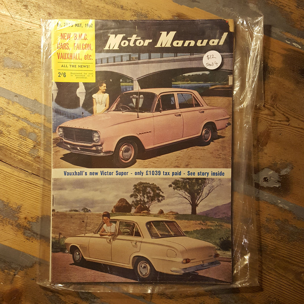 Motor Manual Magazine May 1962 No. 234