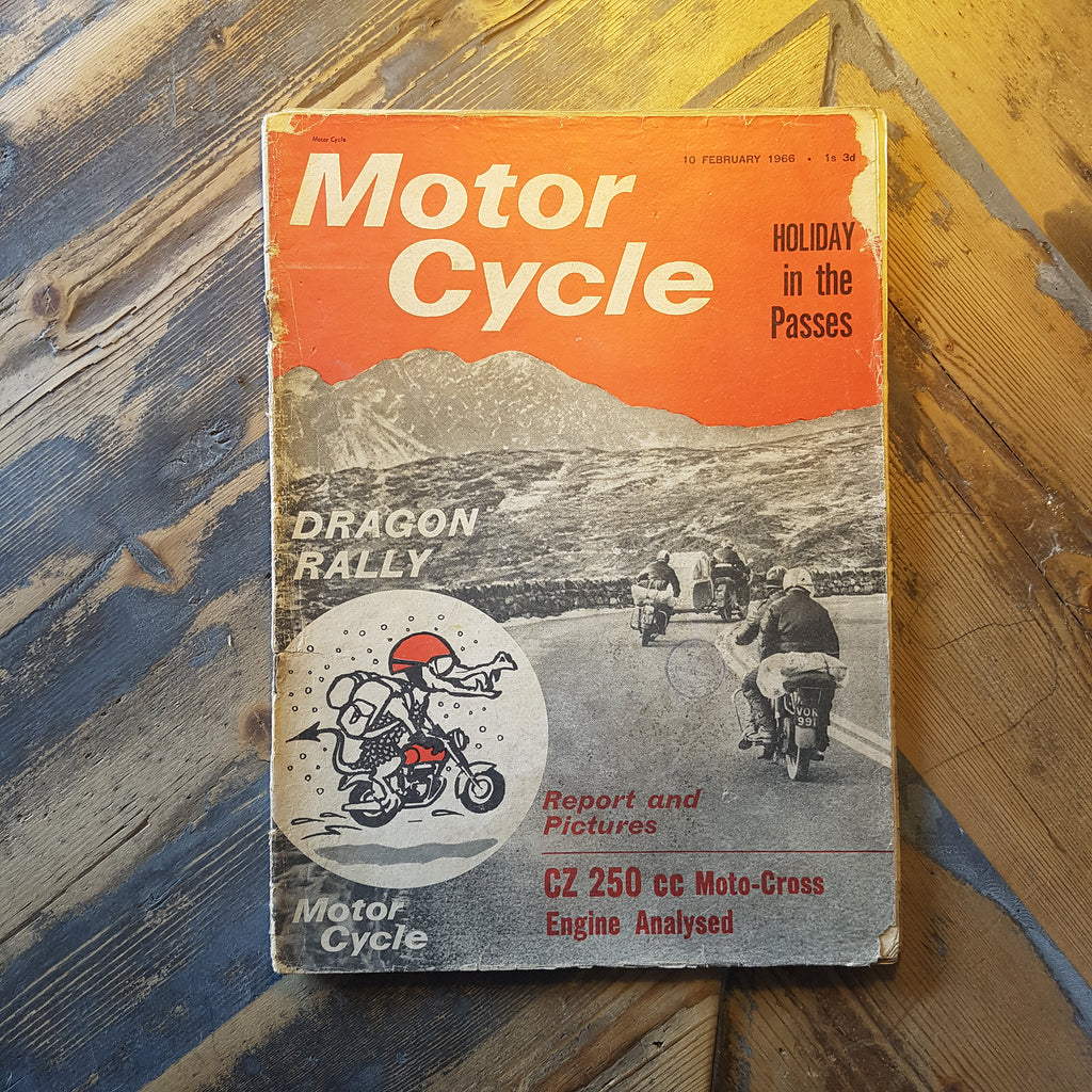 Motorcycle Magazine 10 Feb 1966
