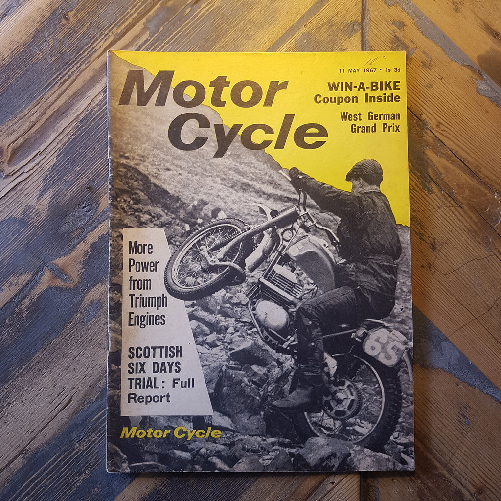 Motorcycle Magazine 11 May 1967