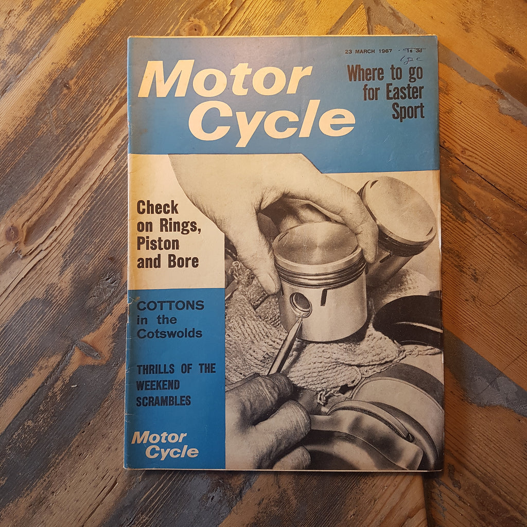Motorcycle Magazine 23 Mar 1967