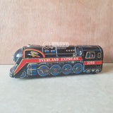 """Overland Express"" tin toy train"