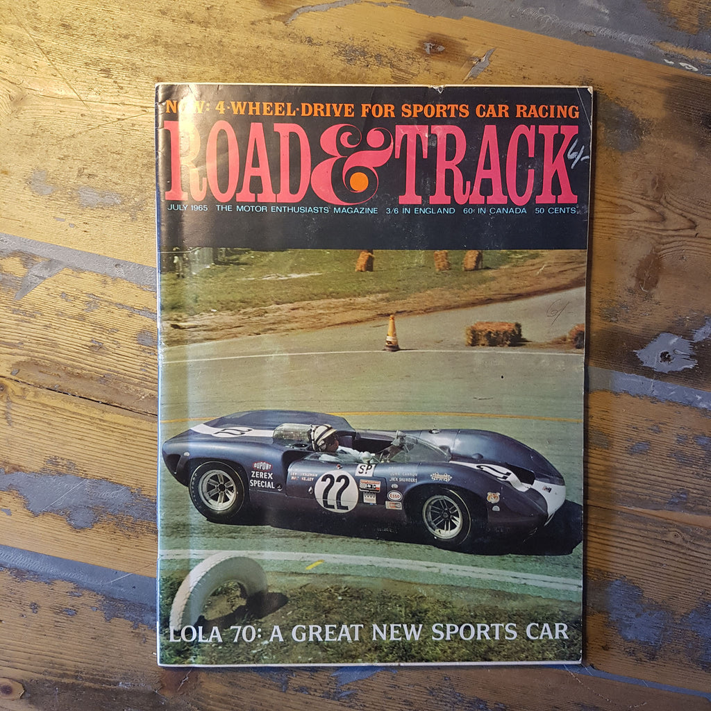 Road and Track Magazine July 1965 Vol. 16 No. 11