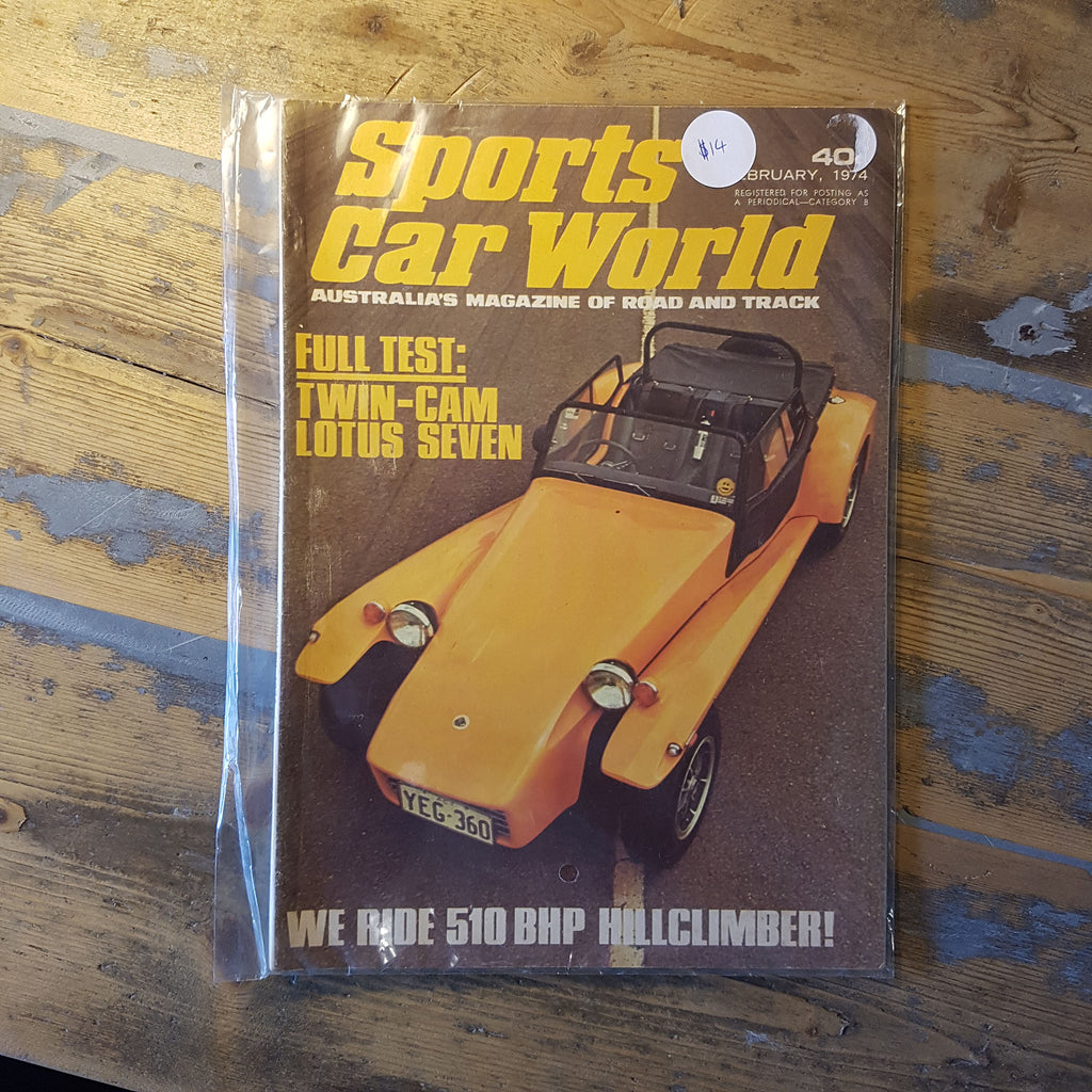 Sports Car World Magazine February 1974 Vol. 34 No. 5