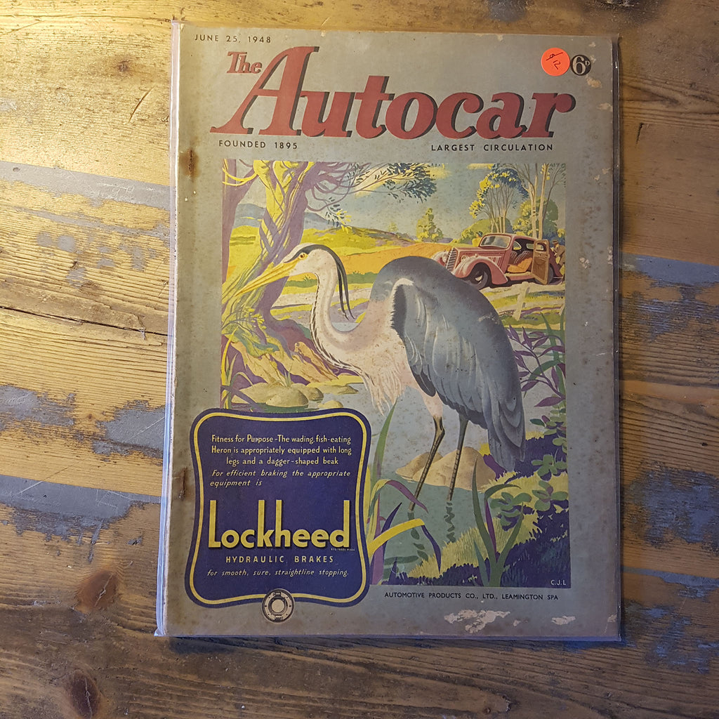 The Autocar Magazine June 25 1948