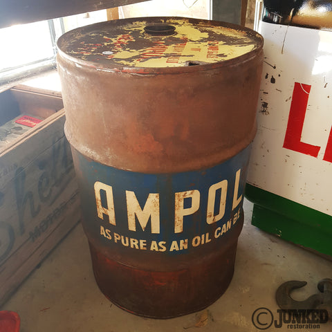 Ampol 13 gallon drum