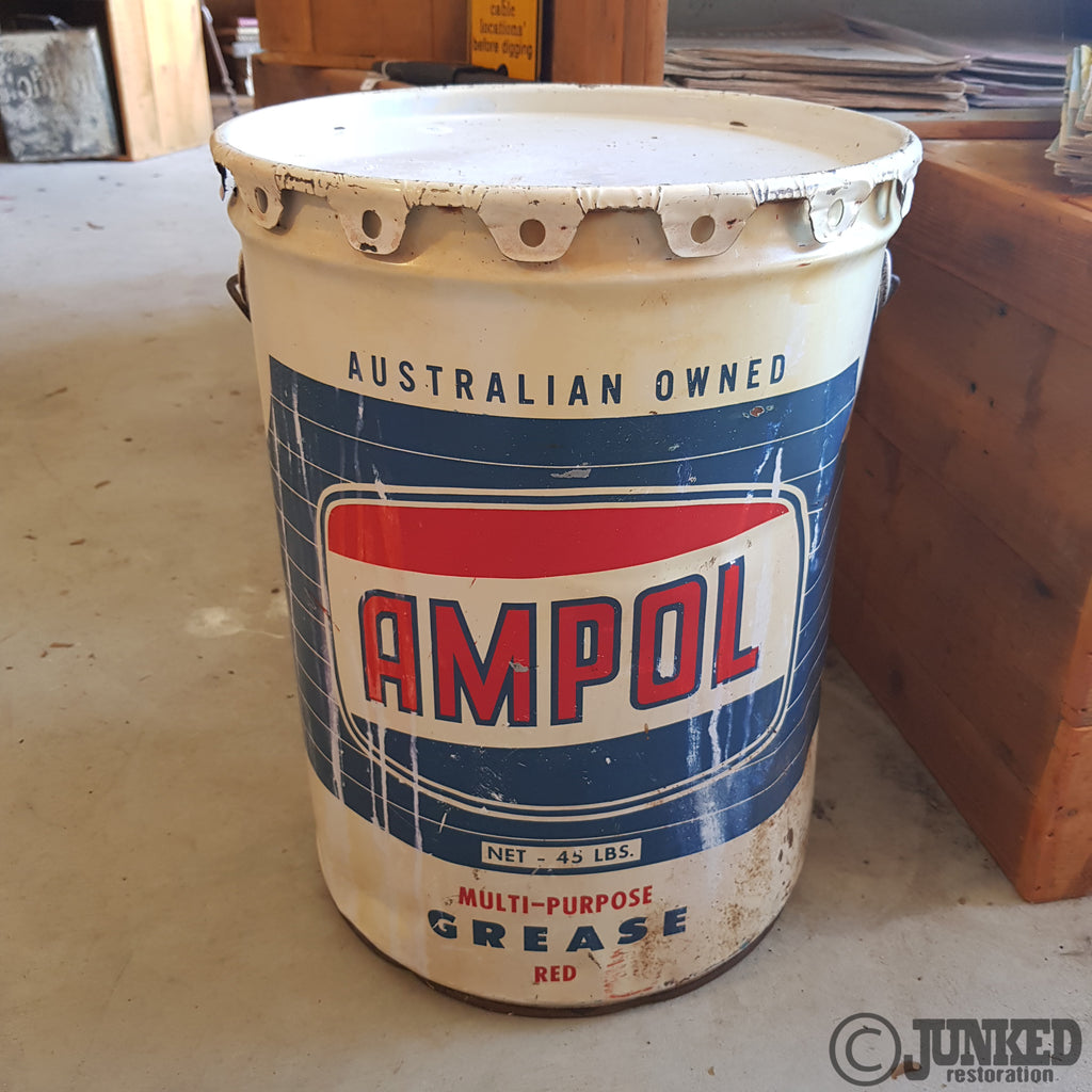 Ampol 45bl grease drum