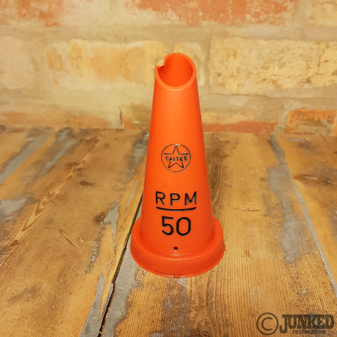 Caltex RPM 50 platic oil bottle top