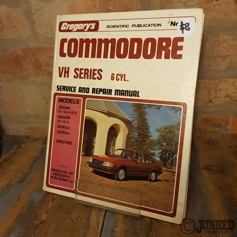 Car Service Manual - Commodore VH (6cyl)