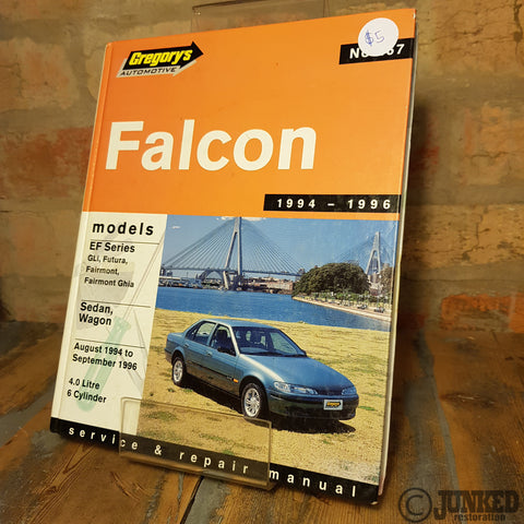 Car Service Manual - Falcon _1994 - 1996)