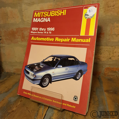 Car Service Manual - Mitsubishi Magna (1991-1996)