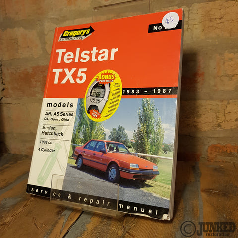 Car Service Manual - Telstar TX5
