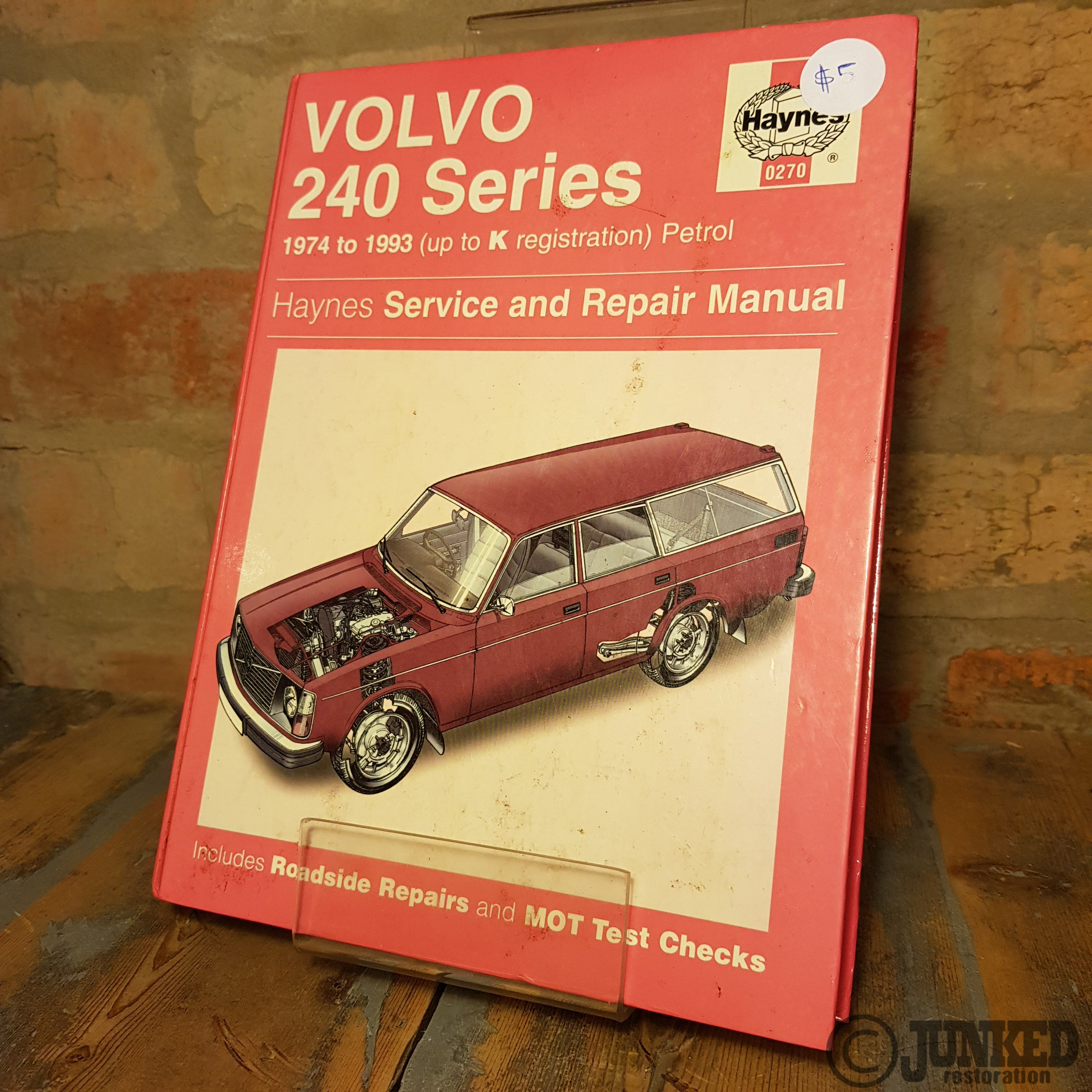 Car Service Manual - Volvo 240 series – JUNKED