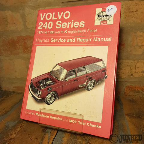 Car Service Manual - Volvo 240 series