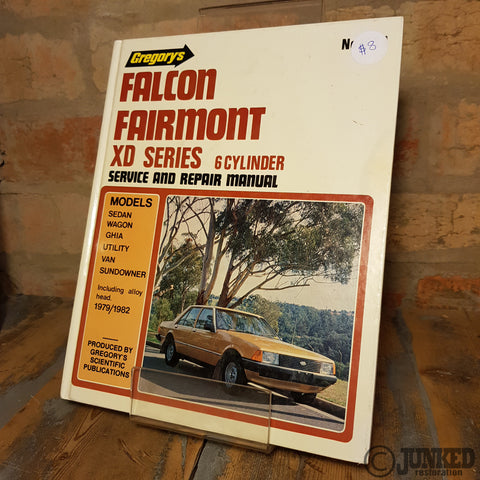 Car Service Manual - XD Falcon (6cyl)