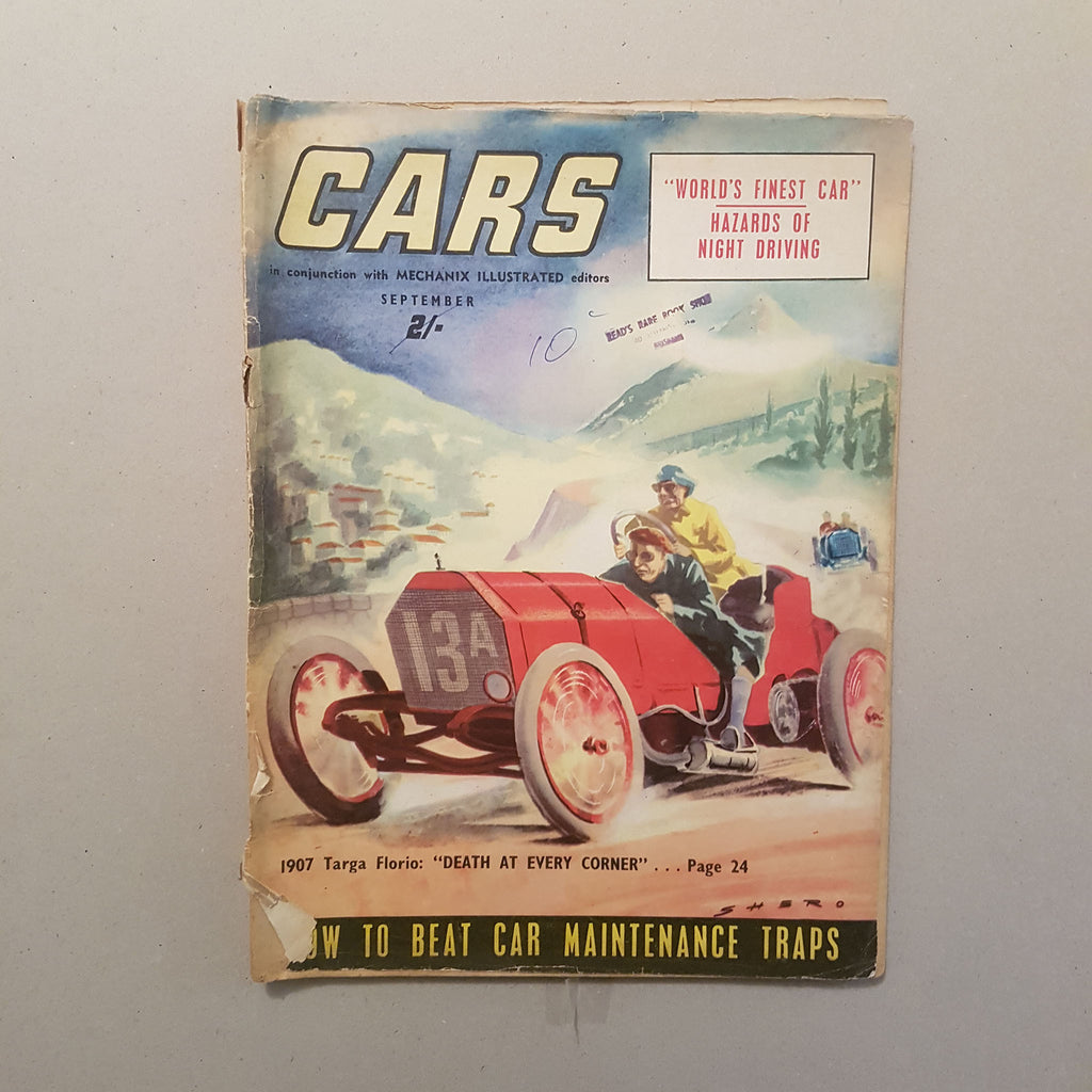 Australian CARS Magazine Vol.1 No.5 9/54