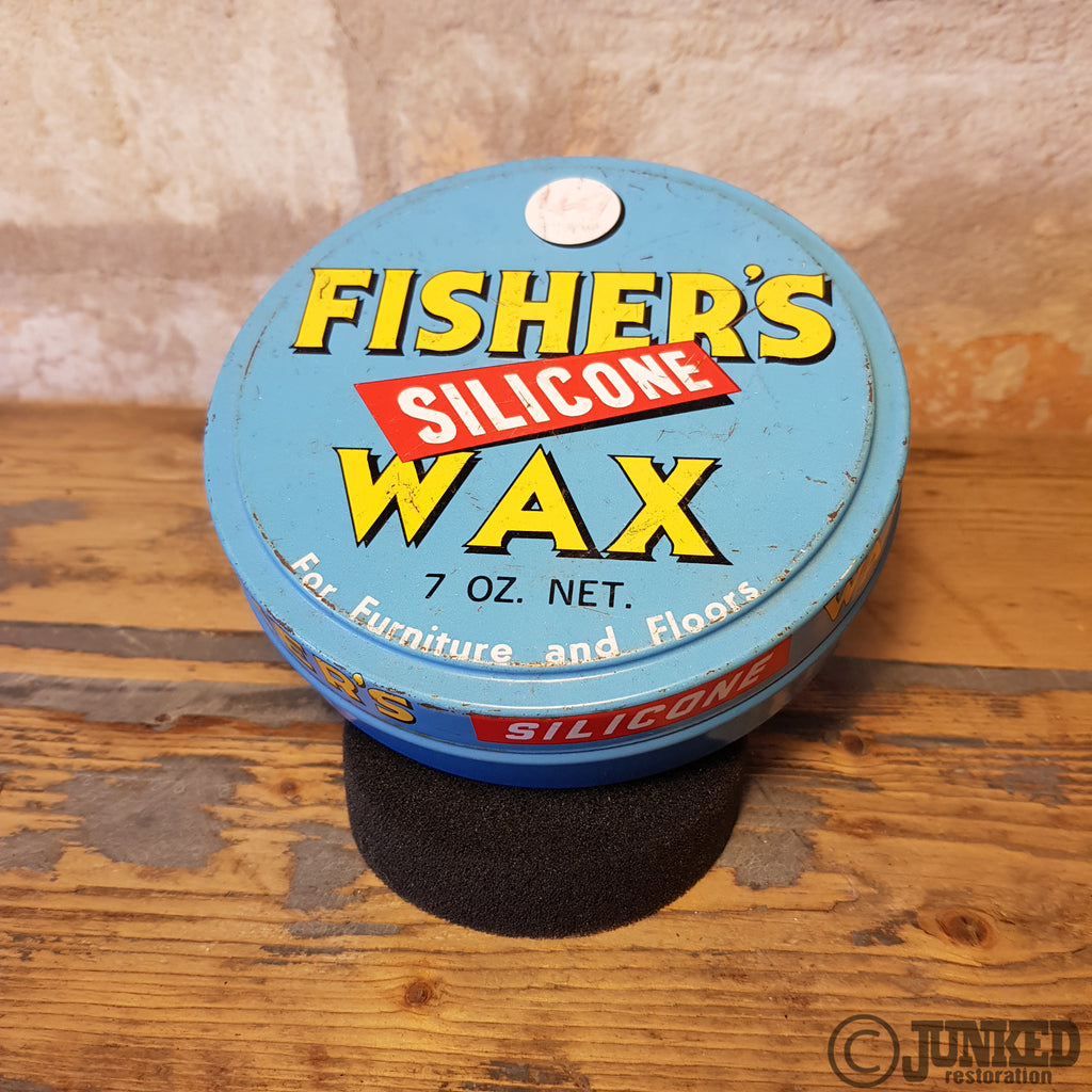 Fishers wax tin