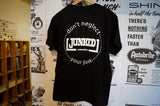 "JUNKED T-Shirt ""Don't Neglect Your Junk"" Large"