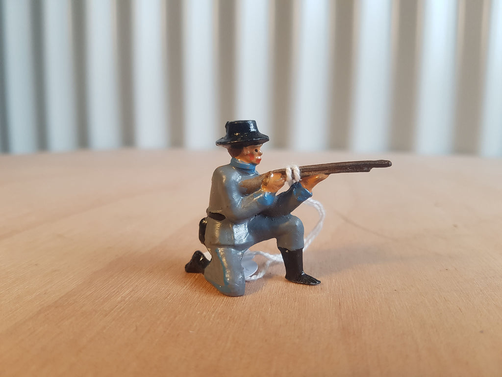 Lead Confederate Soldier Kneeling