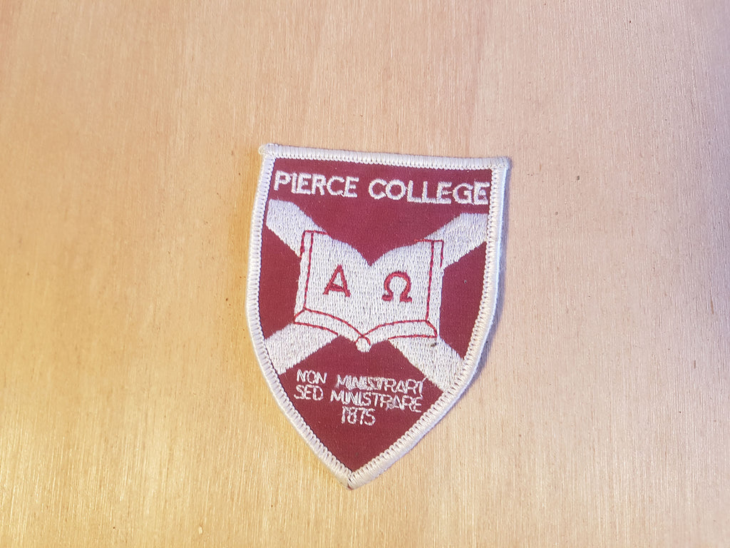 Material Patch - Pierce College