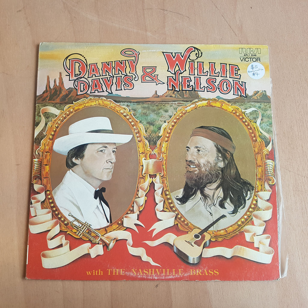 "Record - Danny Davis and Willie Nelson ""The Nashville Brass"""