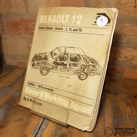 Renault 12 owner's workshop manual