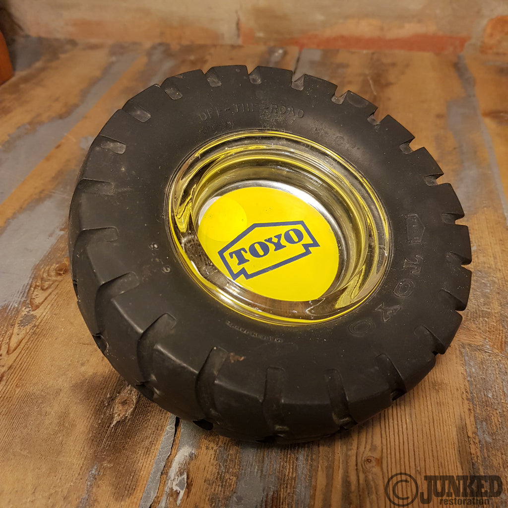 Toyo tyre ashtray