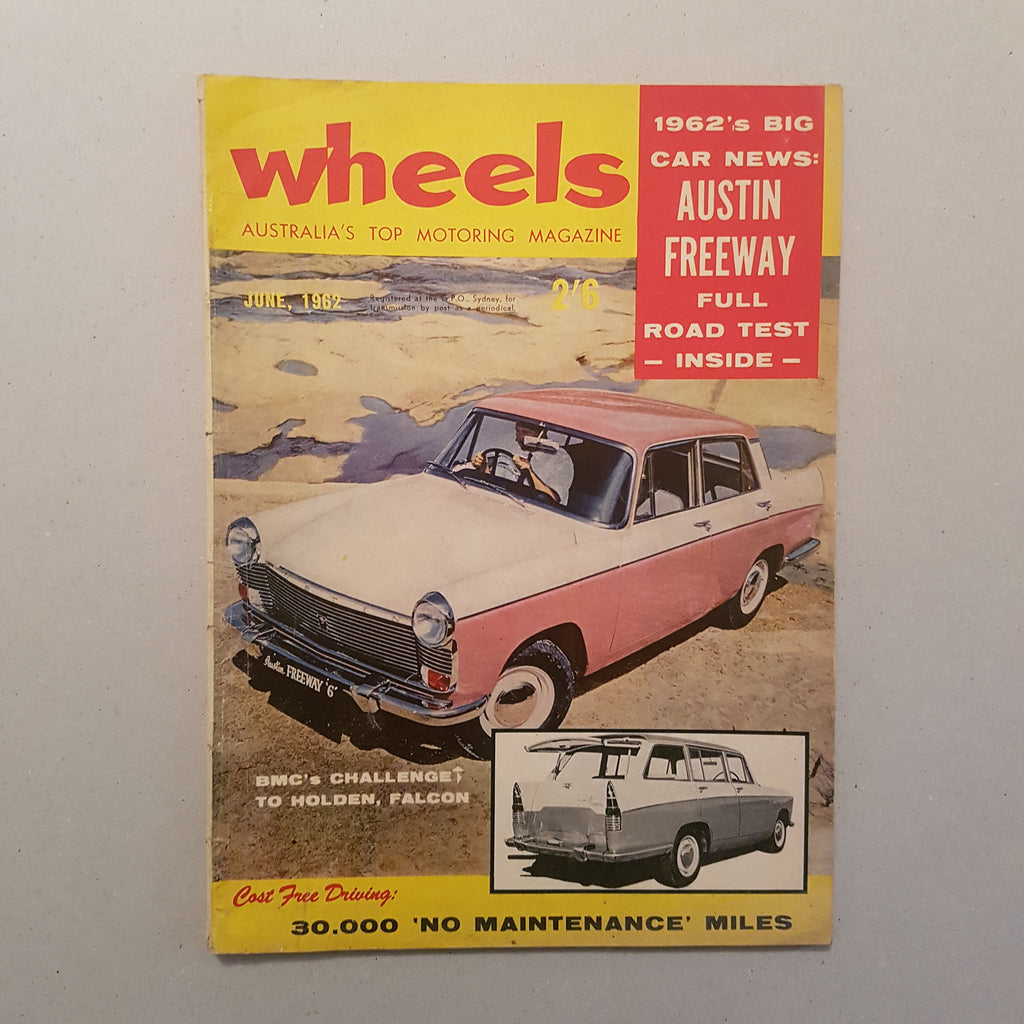 Wheels Magazine Vol.17 No.2 June 1962