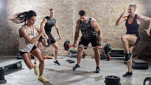 High-intensity training can improve health or fitness