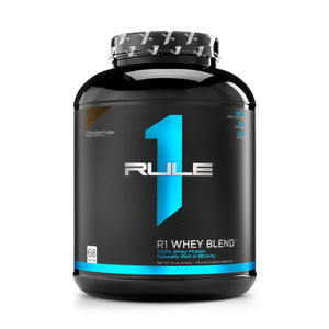 Rule 1 R1 Whey Blend (Chocolate Fudge 5.2lb)