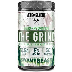 Axe & Sledge The Grind is a full spectrum, hydration enhancing amino acid supplement