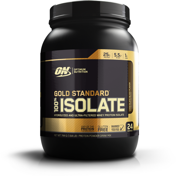 Optimum Nutrition Gold Standard 100% Isolate - FitNation Supplements