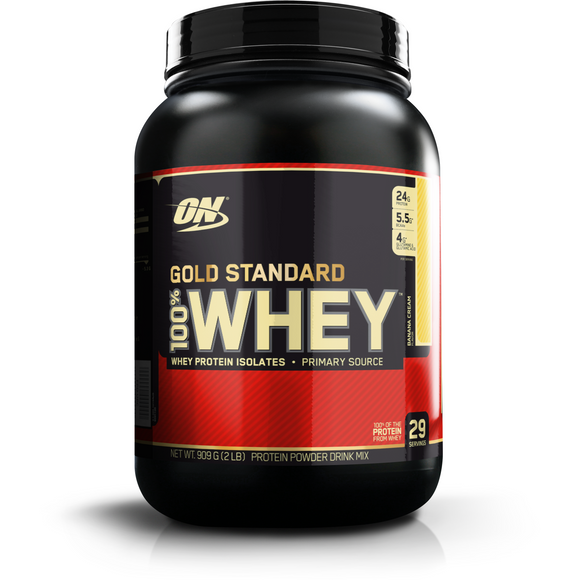 Optimum Nutrition Gold Standard 100% Whey Protein - FitNation Supplements