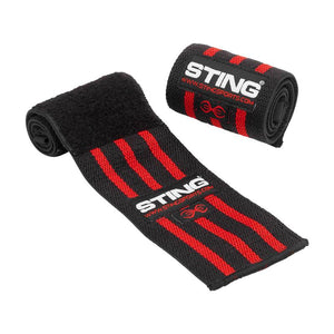 ELASTICISED LIFTING WRIST WRAPS 18INCH - FitNation Supplements