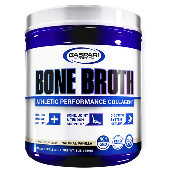 Gaspari Bone Broth Collagen Protein - FitNation Supplements