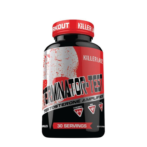Killer Labz Terminator-Test - FitNation Supplements
